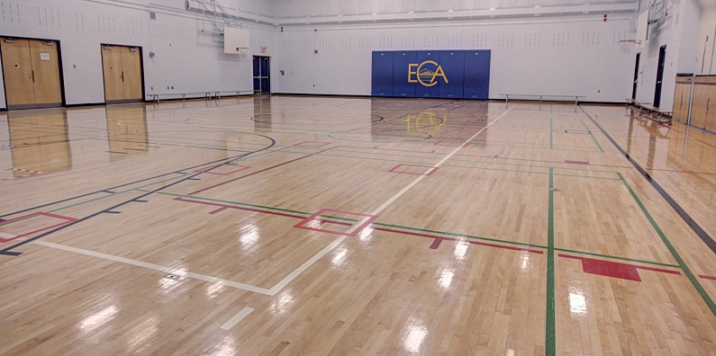 Full and half courts